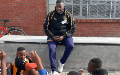 A mentor, on and off the field